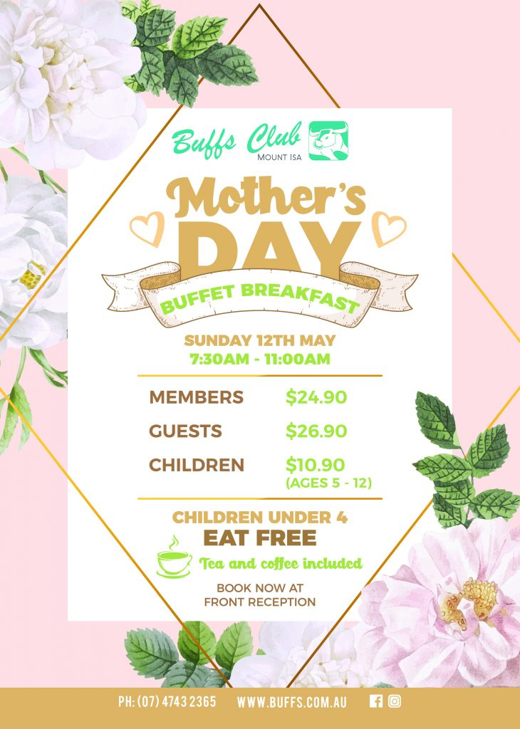 Mother's Day in Mount Isa